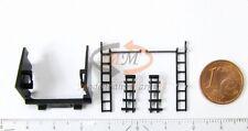 Ersatz-Teilesatz Tendertür + Leitern z.B. für ROCO Dampflok 50 2733 Spur H0 NEU