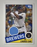 2020 Topps Series 2 1985 Baseball Relic #85TR-LC Lorenzo Cain