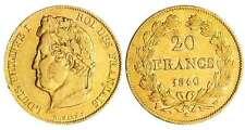 Louis-Philippe Ier - 20 francs tête laurée 1840 W(Lille) caducée