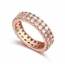 Runde Modeschmuck-Ringe aus Edelstahl für Damen