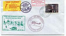 1985 Georg Neumayer Station Helicopter Flight Antarktis Polar Antarctic Cover