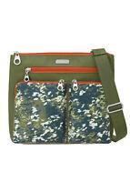 baggallini Women's Multicolored Crossbody Handbag, Nylon, Multiple Colors