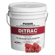 DITRAC BLOX 8kg Rodent Poison Killer BULK Mouse Mice Rat Bait Brodifacoum Blocks