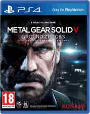 Metal Gear Solid 5 V Ground Zeroes PS4 Brand New & Sealed