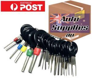 Automotive Connector Plug Pin Crimp Removal Terminal Tool Wiring Depin Tang Tab