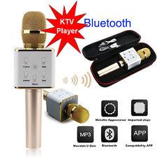 KTV-Q7 Wireless Karaoke Handheld Microphone USB KTV Player Bluetooth Mic Speaker