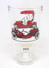 Hazel-Atlas - Stutz 1914 / Hudson 1910 - Water / Drinking Car Glass - 10 oz. - A
