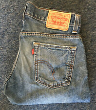 Mens Levis 511 Denim Blue Jeans Waist 30in Leg 30in W30 L30 30x30 Butt Distress