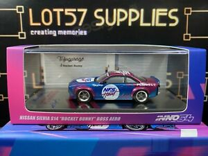 INNO64 2021 Rel Nissan Silvia S14 Rocket Bunny BOSS AERO TOFUGARAGE NFS HEAT