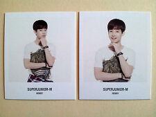 Super Junior SUJU Coex POLAROID Photo CARD SM OFFICIAL GOODS - Henry (2pcs)