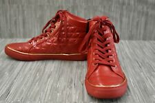 GUESS Red High Top Casual Shoes for Men