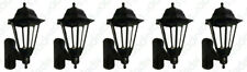 5 x ASD CL/BK100C Coach Lanterns with Photocell Dusk to Dawn Sensors - (Black)