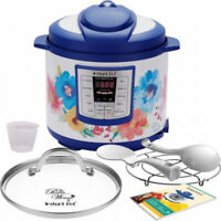 Instant Pot 6 Qt 6-in-1 Multi-Use Pressure Cooker Breezy Blossoms Programmable