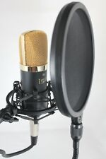 iSK RSC-1-700 Studio Condenser Microphone Set - Stand + Shock Mount + Pop Filter