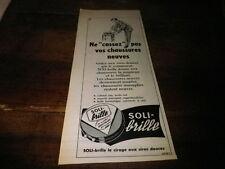 COURVOISIER - COGNAC - NAPOLEON - Publicité de presse / Press advert !!! 1956 !!