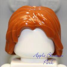 NEW Lego Tousled Minifig DARK ORANGE HAIR -Boy/Prince Dastan Style Female/Girl