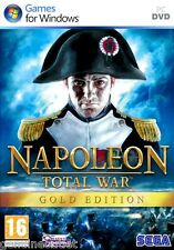 NAPOLEON TOTAL WAR GOLD EDITION for PC SEALED NEW (SHIPS FREE in USA)