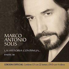 Solis, Marco Antonio : Historia Continua: Parte III CD