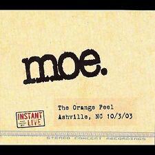 Instant Live: The Orange Peel - Ashville, NC, 10/03/03 by moe. (CD, Nov-2003, 3