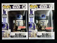 Funko Pop Star Wars Empire Strikes Back ~ Dagobah R2-D2 [Target Exclusive] BNIB