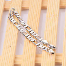 Mens 14K stainless steel Lucky chain bracelet Fashion Free shipping jewelry