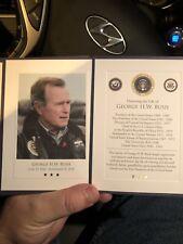 George H. W. Bush Memorial Card U. S Capitol