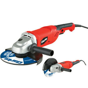 """Clarke 2350w 230mm 9"""" Electric Angle Grinder Cutting Tool 240V CAG2350C"""