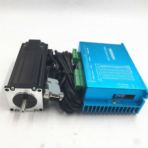3Axis 8.5NM Nema34 Motor Drive Close Loop Stepper kit&CNC Controller&Transformer