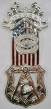 Junior Order Of United American Mechanics Valley Council 460 Medal Badge (O)