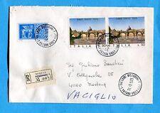 1975 ANNO SANTO £.90 (Sass.1286) COPPIA + ESPRESSO CAVALLI ALATI £.250  (242061)