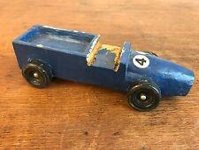 1977 Pinewood Derby Pack 111 Race Car Vintage Folk Art Cub Scouts BSA HD10