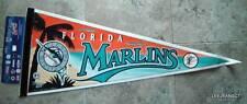 Florida Marlins Baseball Pennant 1990's Wincraft on cardboard Edition #1