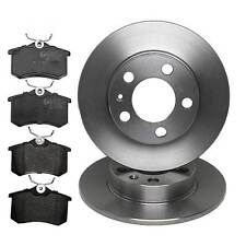 Quality REAR BRAKE DISCS 232mm & PADS JURATEK VAG118 & JCP1083