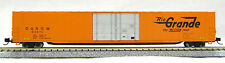 N Scale 4 Door 85 Ft Hi-Cube, Rio Grande (Orange) (with MT couplers) (1-14666)