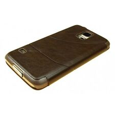 synthetic leather Flip phone case cover for Samsung Galaxy S5 i9600