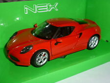 Alfa Romeo 4C 1:24 Red by Welly
