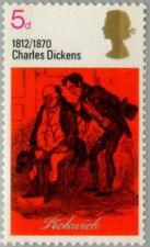 GREAT BRITAIN -1970- Dickens & Wordsworth Series - MNH Stamp - Scott #617