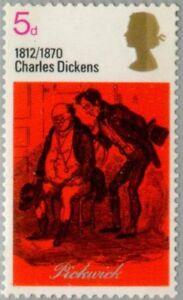 GREAT BRITAIN -1970- Dickens & Wordsworth Series - MNH Stamp - Scott #617
