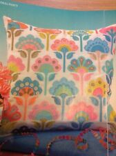 (T) Emma Congdon Geometric Flowers Cushion Cover Cross Stitch Chart