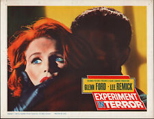EXPERIMENT IN TERROR original 1962 lobby card LEE REMICK 11x14 movie poster