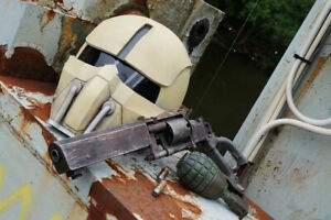 Fallout 4 Synth Field Helmet Kit / Fallout Cosplay / Unpainted Model