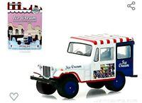 1975 Jeep DJ-5 ICE Cream Truck (White)Greenlight Diecast
