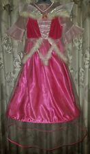 Disney Sleeping Beauty Princess Aurora Costume Dress Up Party Outfit 5-7 Yrs
