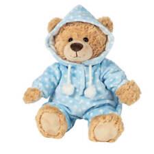 Teddy Hermann 91387 - Schlafanzugbär Hellblau
