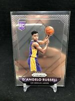 D'angelo Russell 2015-16 Panini Prizm Basketball Rookie Card #322 Lakers E38