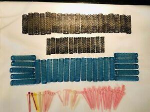 Vintage 116 Wire Brush Hair Rollers Curlers & Picks