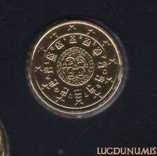 Portugal 2010 10 Centimes BU FDC provenant coffret 20000 exemplaires