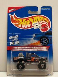 HOT WHEELS 1996 Nissan Truck, Dark Blue, Race Truck Series, Collectors #383
