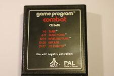 COMBAT  Atari CX-2601 CARRIAGE GAME  NO  MANUAL  OR BOX  1980'S