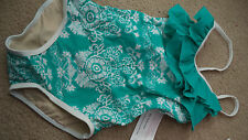 American Girl Ocean Blossom Swim Suit Girls 6 - New with tags